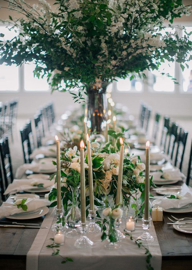 Exquisite greenery filled wedding belle the magazine