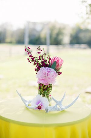 Texas wedding centerpiece - Jenna Leigh Wedding Photography