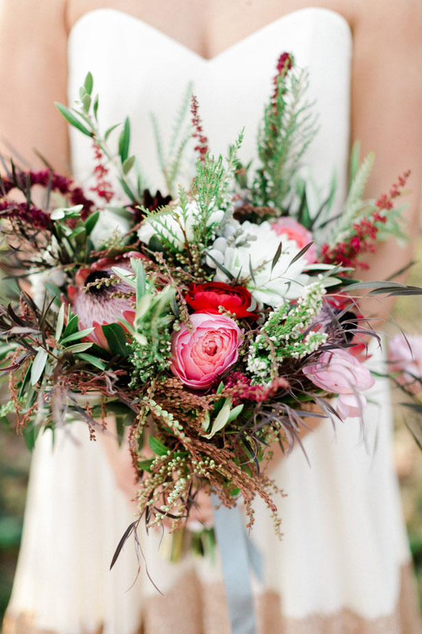 Unique wedding bouquet - Sharon Nicole Photography