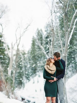 Utah mountains engagement picture ideas - Mallory Renee Photography