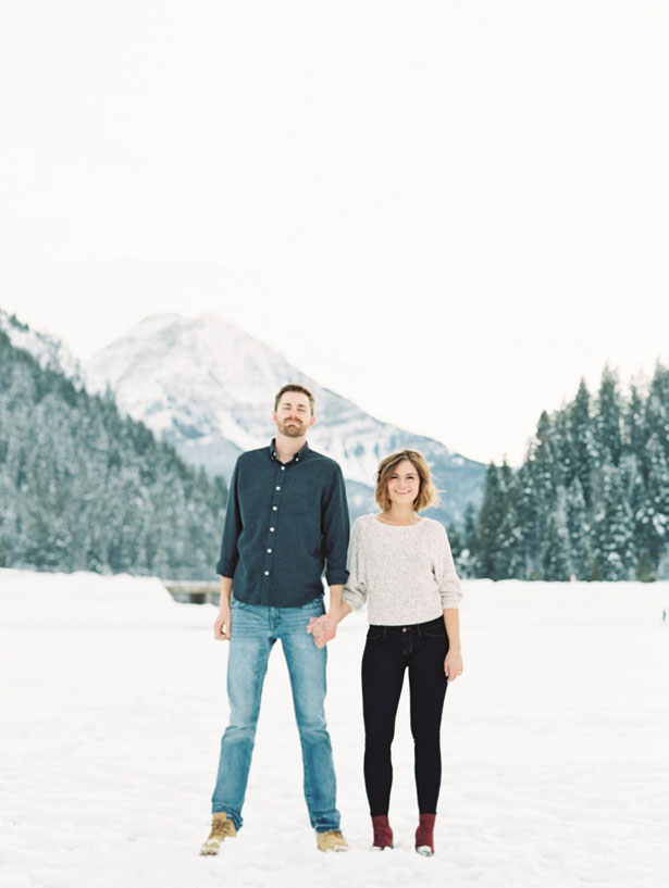 Utah mountains engagment - Mallory Renee Photography