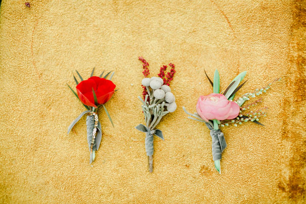 Wedding boutonnieres - Sharon Nicole Photography