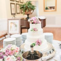 Wedding cake table - Christa Rene Photography