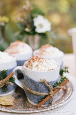 Wedding cocoa cocktail - Jennifer Fujikawa Photography