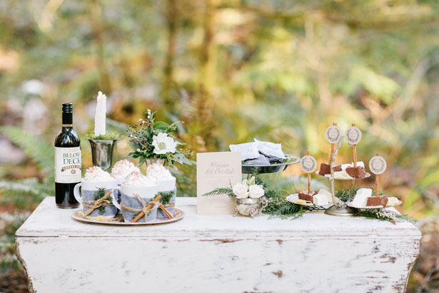 Wedding dessert table - Jennifer Fujikawa Photography