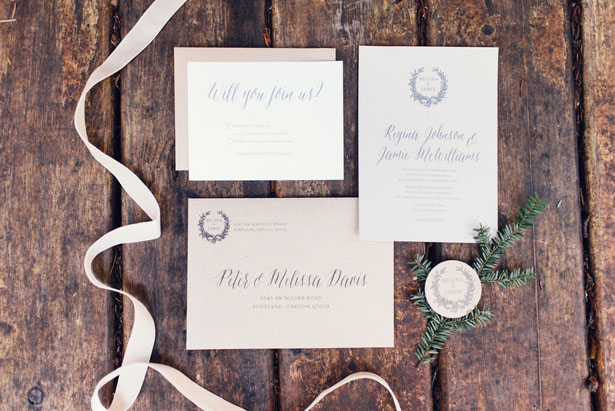 Wedding invitations - Jennifer Fujikawa Photography