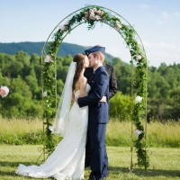 Wedding kiss - Skyryder Photography, LLC