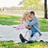 Wedding kiss - Jenna Leigh Wedding Photography