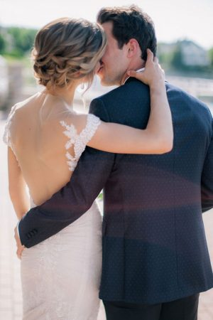 Wedding kiss - Clane Gessel Photography