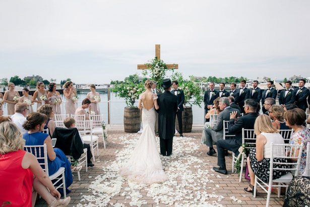 Wedding outdoor ceremony - Clane Gessel Photography