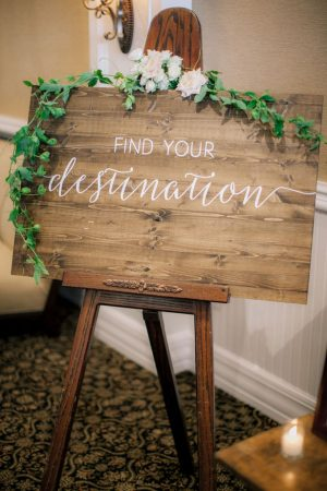 Wedding sign - Clane Gessel Photography