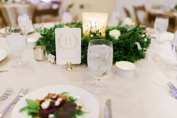 Wedding table number - Shandi Wallace Photography