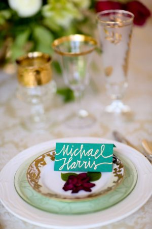 Wedding table setup - Sarah Goodwin Photography