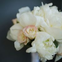 White wedding bouquet - Skyryder Photography, LLC