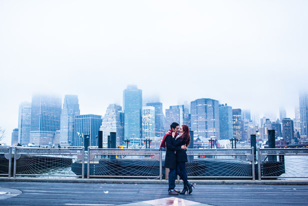 Winter engagement - BOM PHOTOGRAPHY