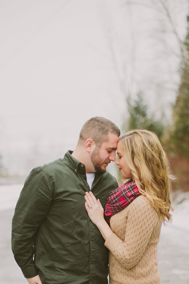 Winter engagement - Shaunae Teske Photography