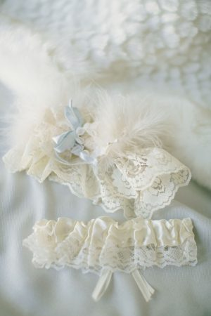Bridal garter - Jennifer Van Elk Photography