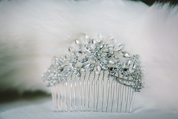 Bridal hair accessories - Jennifer Van Elk Photography
