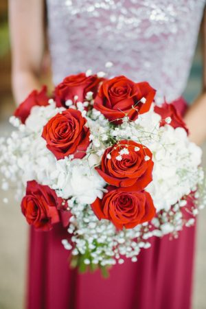 Bridesmaid bouquet - Jennifer Van Elk Photography