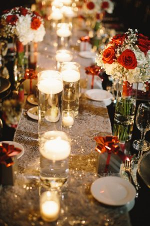 Candel wedding table decorations - Jennifer Van Elk Photography
