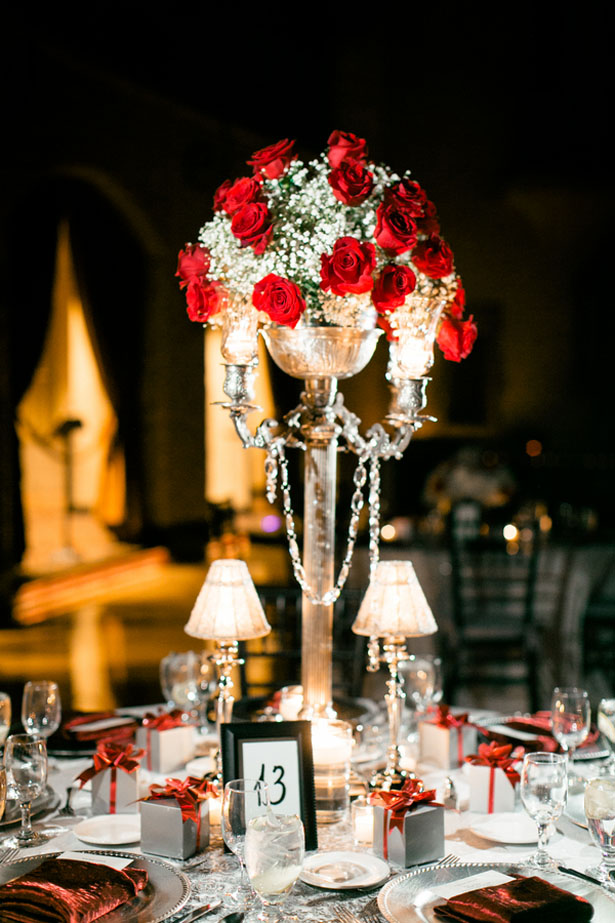 Floral wedding centerpiece - Jennifer Van Elk Photography
