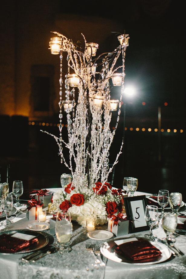 Gorgeouss wedding centerpieces - Jennifer Van Elk Photography