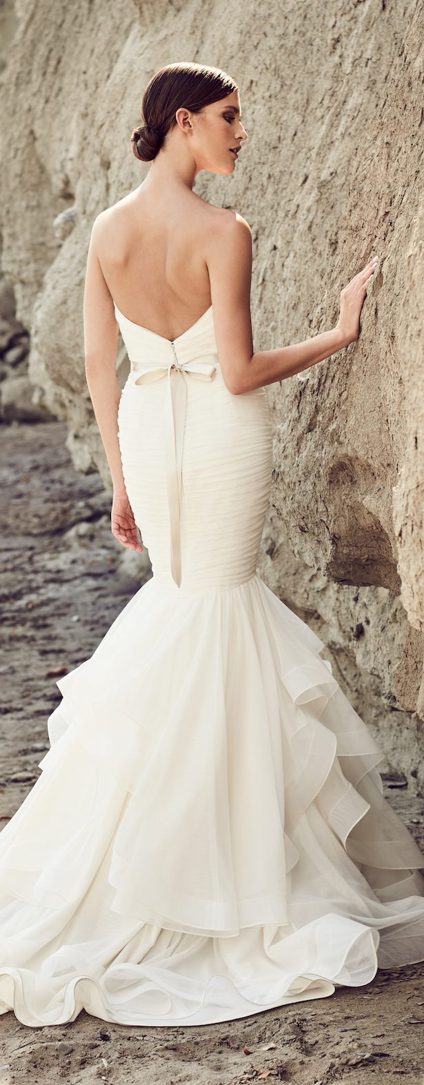 Wedding Dress by Mikaella Bridal Spring 2017 Collection