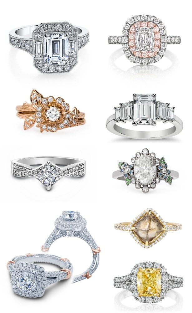 Holiday Gift Guide : Engagement Rings + A Giveaway