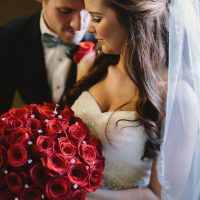 Romantic wedding picture - Jennifer Van Elk Photography