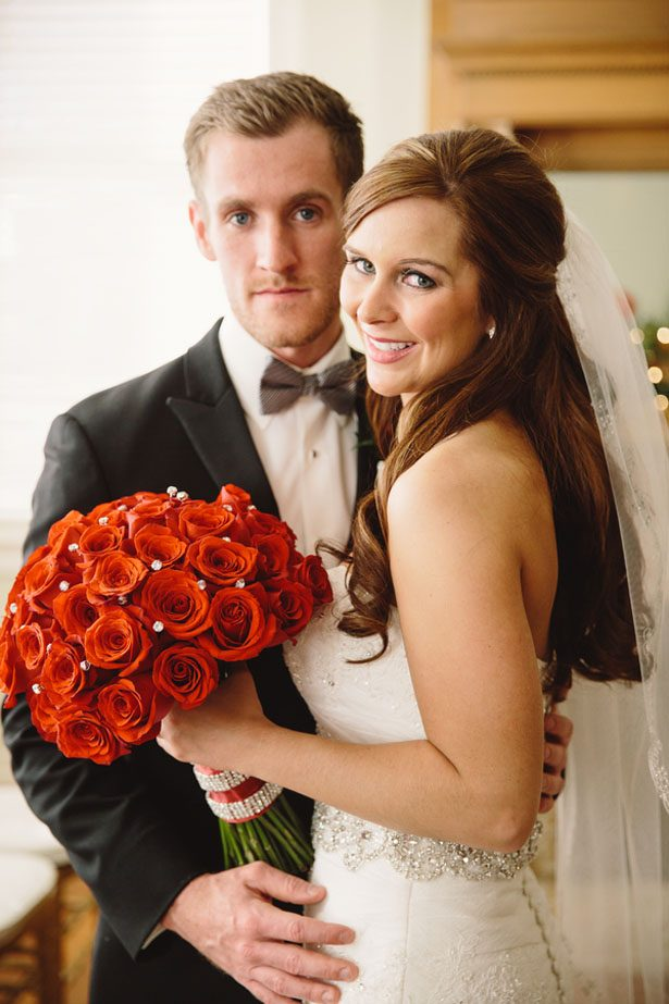 Sophisticated bride and groom - Jennifer Van Elk Photography