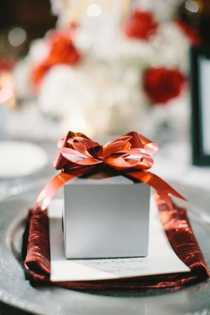 Wedding table gift - Jennifer Van Elk Photography