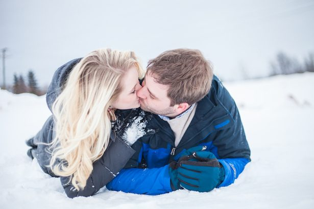 Winter Engagement Session - Wren Photography