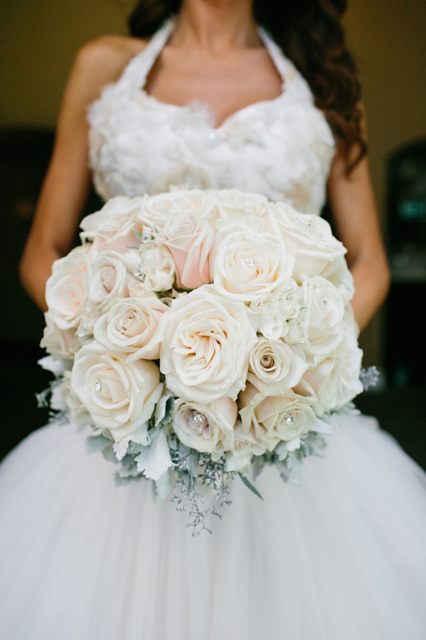 Winter Wedding Bouquets - KMH Photography