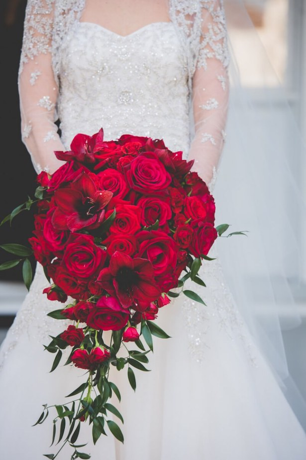 Winter Wedding Bouquet - Photographer: BG Productions