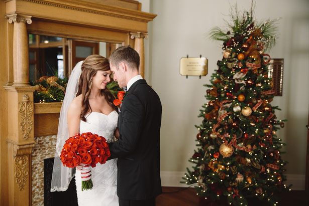 Winter wedding - Jennifer Van Elk Photography