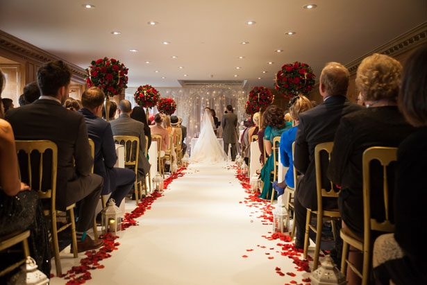 Christmas Wedding Ceremony - Cameo Photography