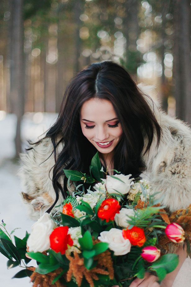Western Romance Winter Wedding Inspiration