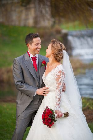 Beautiful bride and groom - Cameo Photography