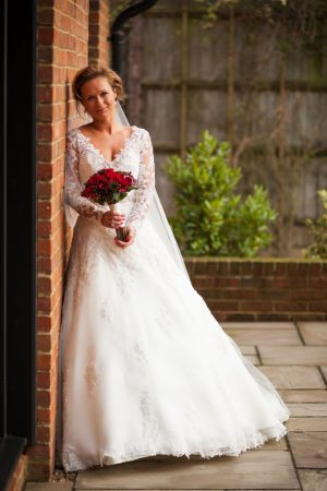 Beautiful wedding dress - Cameo Photography