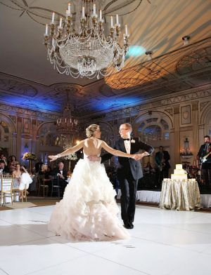 Bride and groom dance - BLUE MARTINI PHOTOGRAPHY