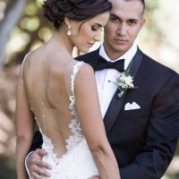 Bride and groom picture idea - William Innes Photography