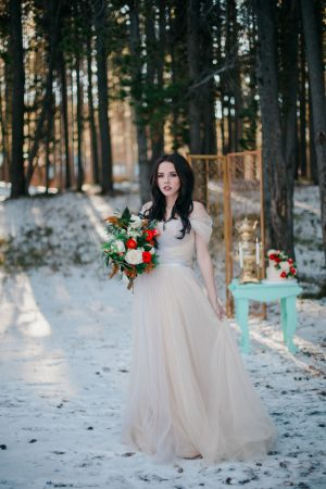 Cream bridal dress - Julli Anna photography