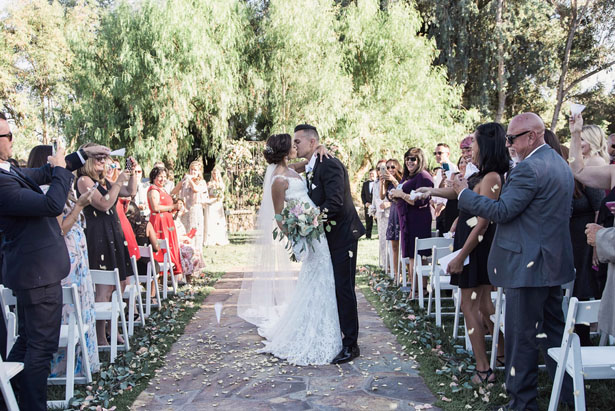 First wedding kiss - William Innes Photography