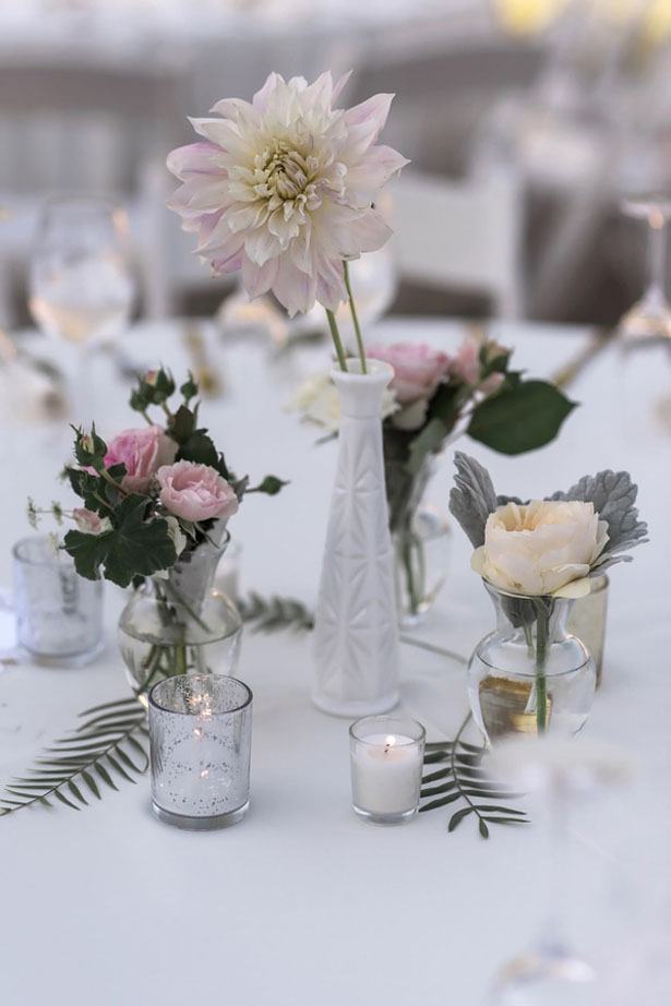 Floral wedding decorations - William Innes Photography