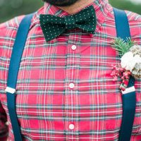 Groom bow tie - Dani Cowan Photography