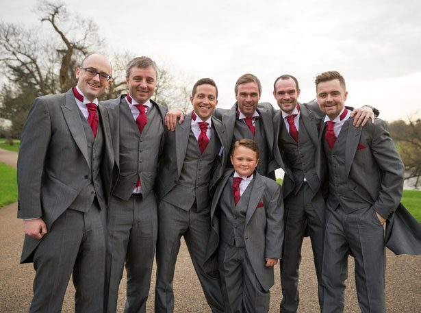 Groomsmen tux ideas - Cameo Photography