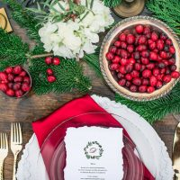 Holiday wedding decor inspired - Dani Cowan Photography