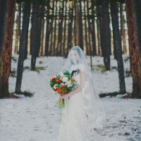 Long bridal veil - Julli Anna photography