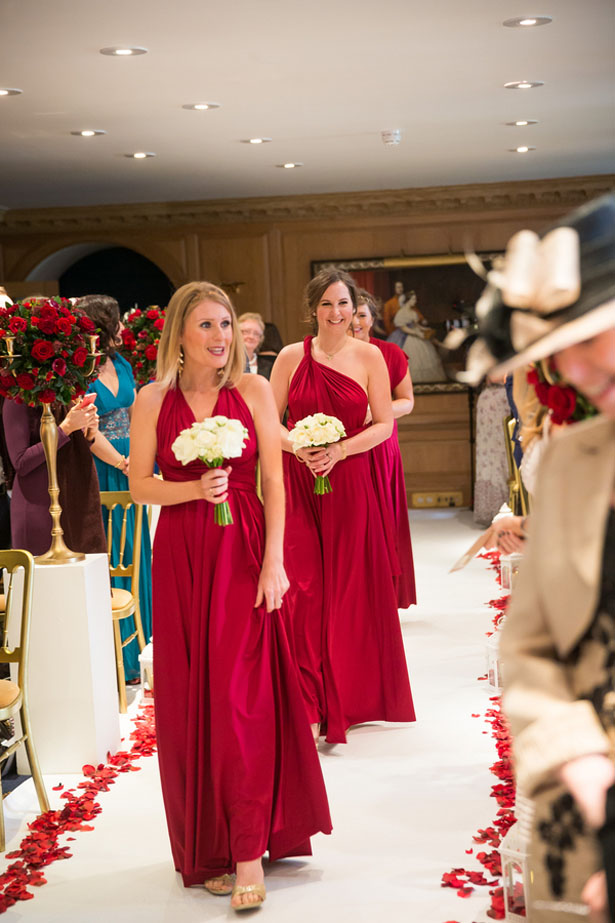 Long bridesmaid dresses - Cameo Photography
