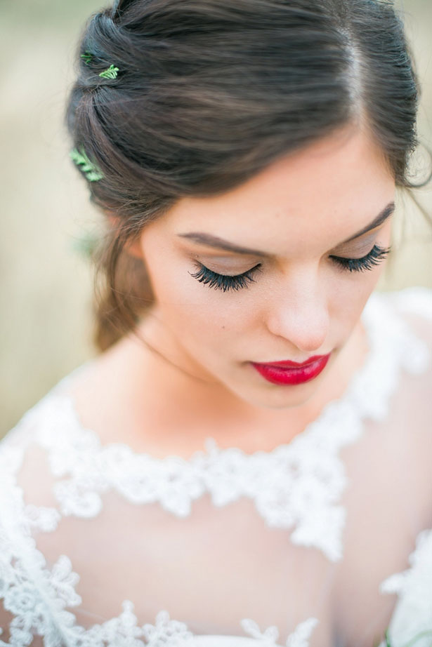 Natural bridal makeup - Dani Cowan Photography